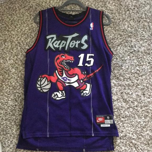 timeless design 4b2a6 68f2c Vintage Vince Carter Toronto Raptors Jersey